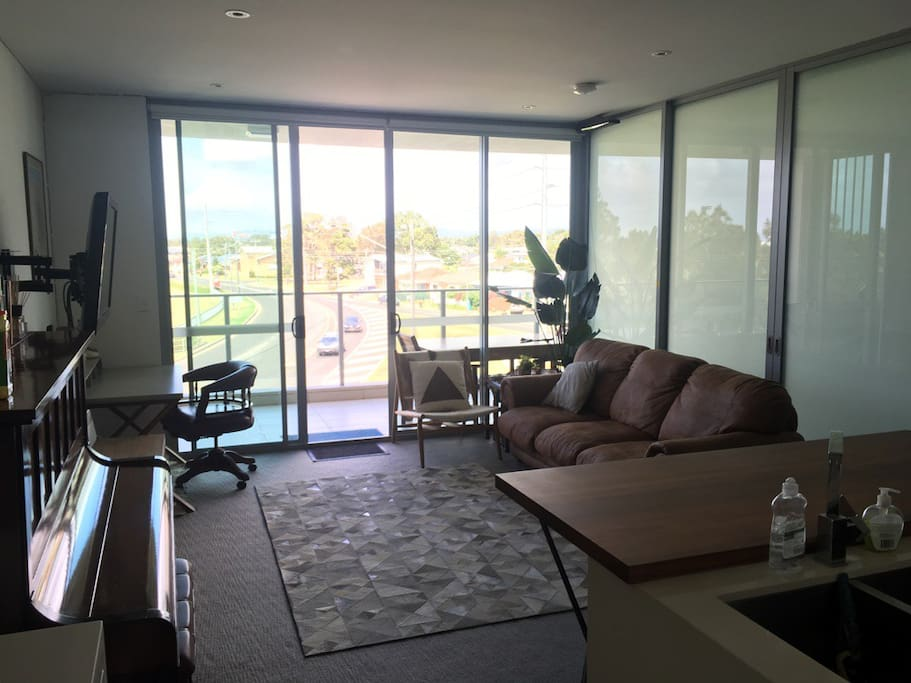 Living Space that looks over Dalton Park