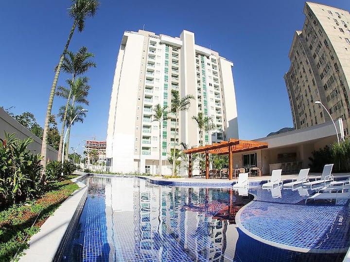Apartamento Mobiliado próximo ao Rio Centro