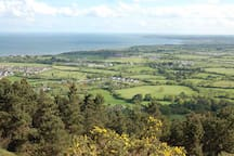 View from Tara hill - beautiful walk