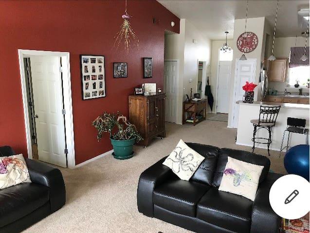 Missoula South Hills, master bedroom