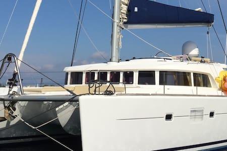 Superbe Catamaran Lagoon500 (2pers) - Kontokali