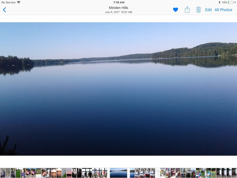 Twelve mile lake is a 3 chain lake, great fishing and boating.