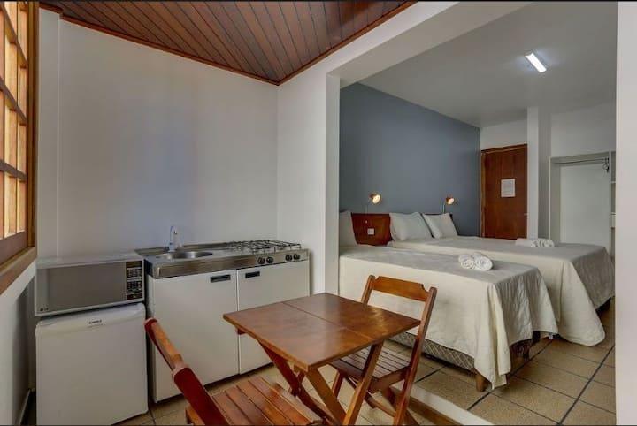 Suites com coz. de frente pro mar de canasvieiras