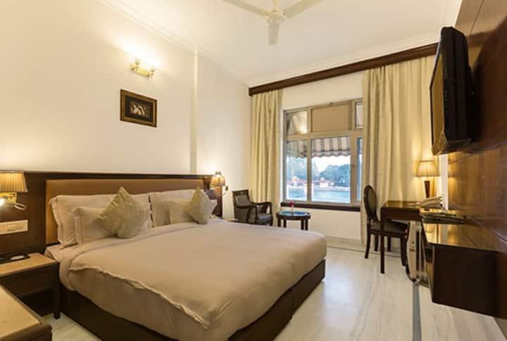Ganga Facing Room