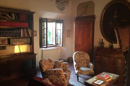 Staying in a Tuscan palace of '500 - Montopoli - Casa