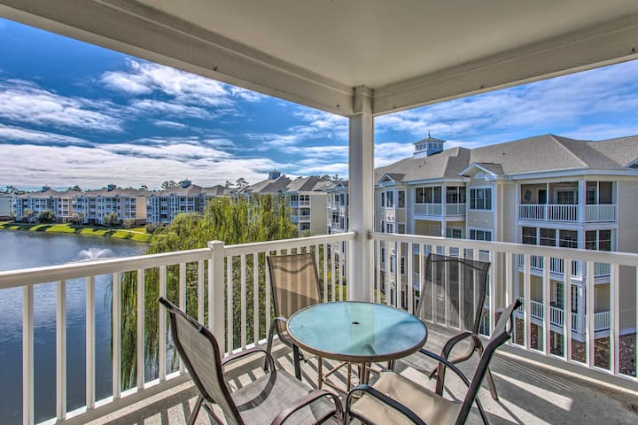NEW! Resort Condo w/ Pool Access, 2 Miles to Beach