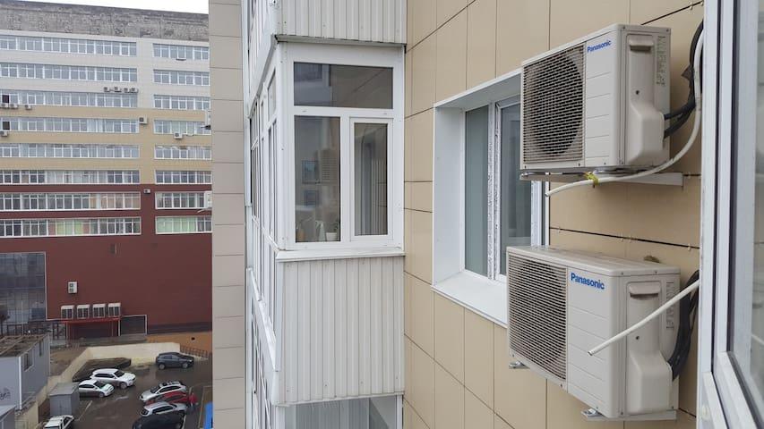 Видовая двухкомнатная квартира со всеми удобствами - Omsk - Apartment