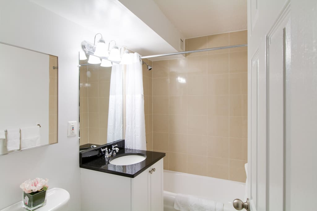 Bathroom at Longfellow Place by Stay Alfred
