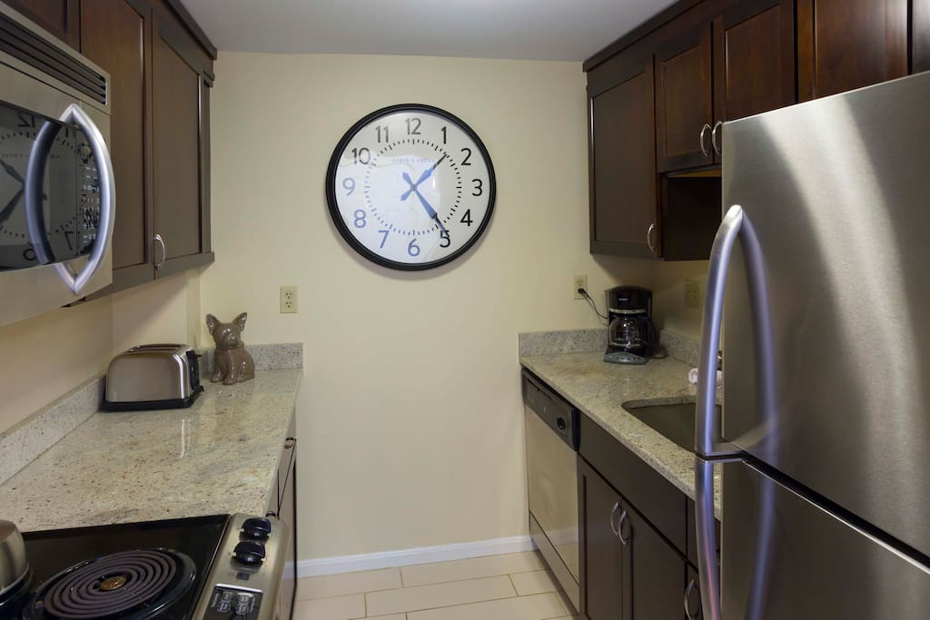 Kitchen at The Garrison Square by Stay Alfred