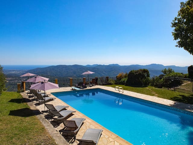 MAS DU CHENE, DETACHED VILLA 3 BEDROOMS, SEA VIEWS