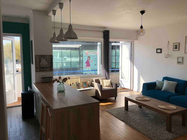 Appartement d'Alice. Au Cœur de Lorient