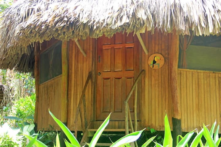 Cabana Toucan Bed-& Breakfast in the jungle