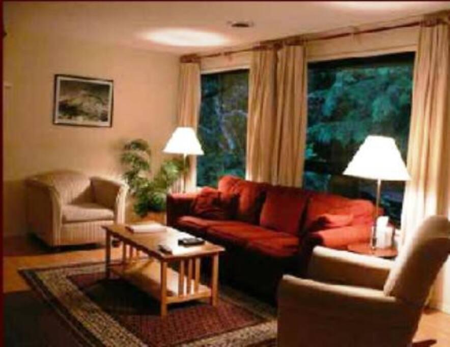 living room in Chalet