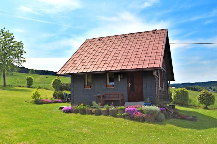 Modern Holiday home in Altenfeld Thuringia with private terrace