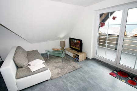 Moderes Apartment mit Balkon - GERMINA Apart 3.2 - Oberhof