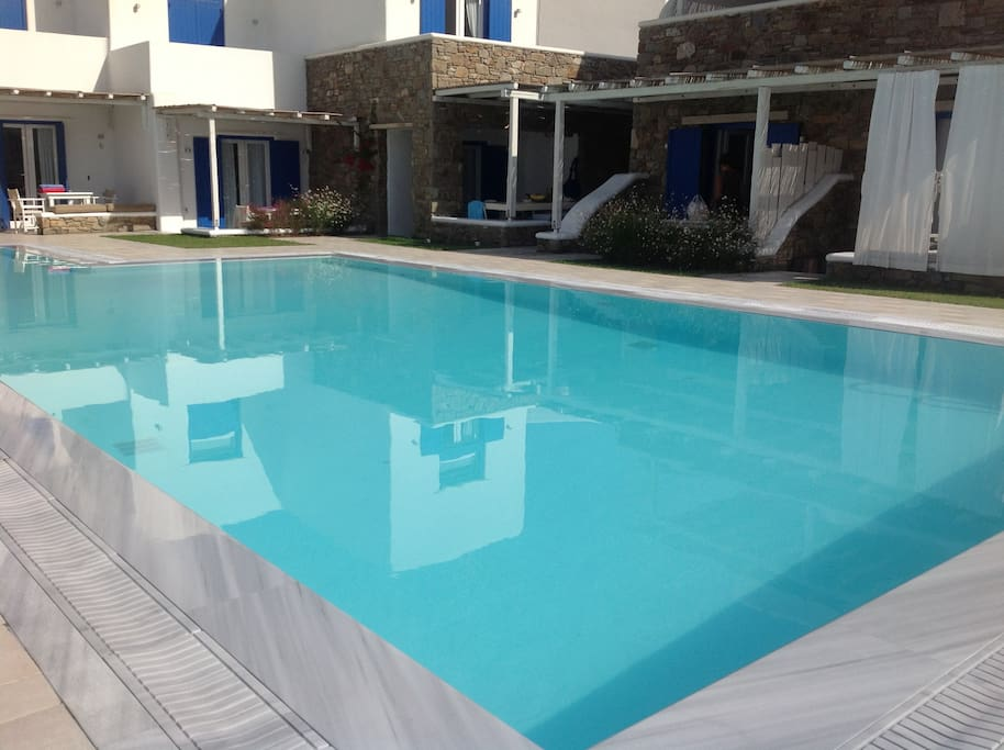 Shared pool in the complex