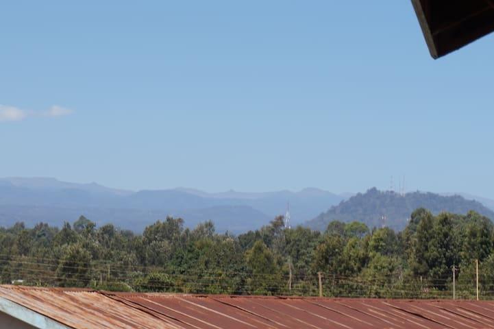 View of Aberdare Mountain Range
