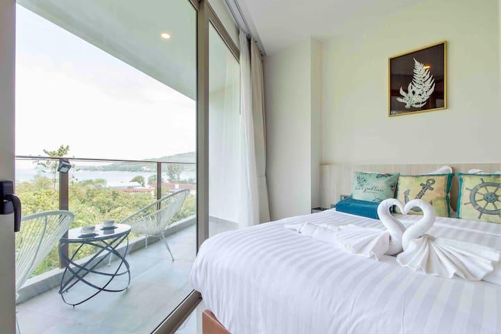 oceana seaview apartment(300meters to sea beach)