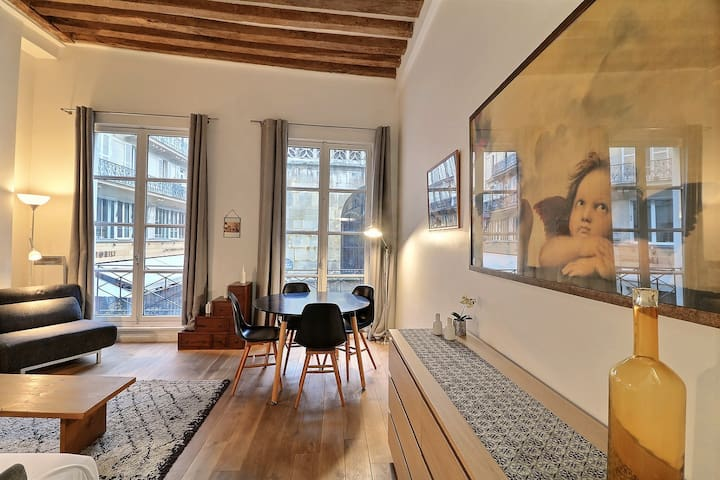 1ST PARIS -CHATELET DISTRICT- BEAUTIFUL APARTMENT