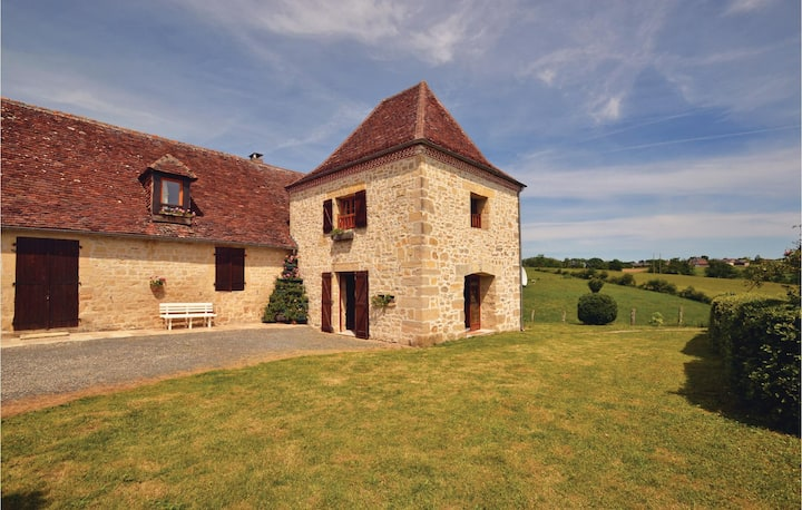 Awesome home in La-Chapelle-Saint-Jean with 3 Bedrooms