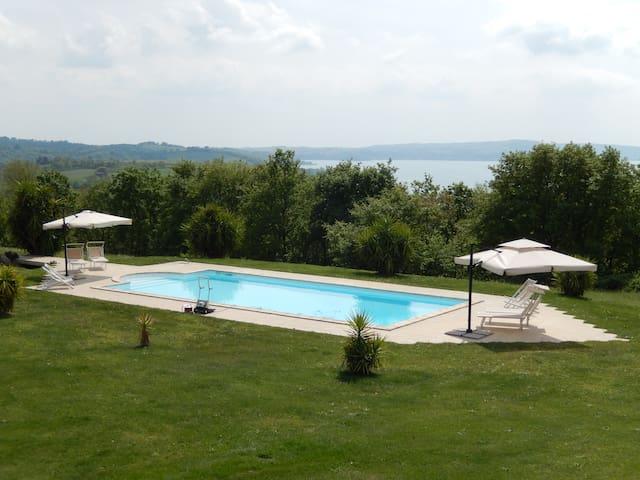 Turtle Farm, esclusiva villa sul lago. - Trevignano Romano - Villa
