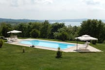 Podere le 5 Dame - Stunning Villa immersed in greenery, with every ...