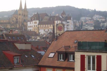 Belle chambre Neuchâtel au centre - Neuchâtel