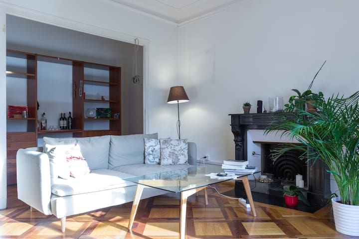 Spacious apt in quaint neighborhood - Geneve - Huoneisto