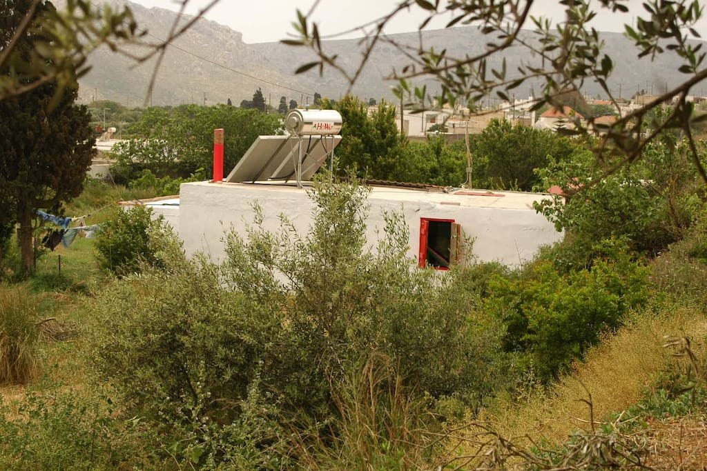 total privacy in house surrounded by own land