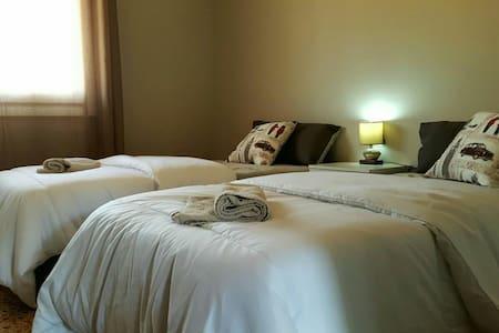 Habitación 2 camas a 5Km Salou - Vila-seca - Appartement