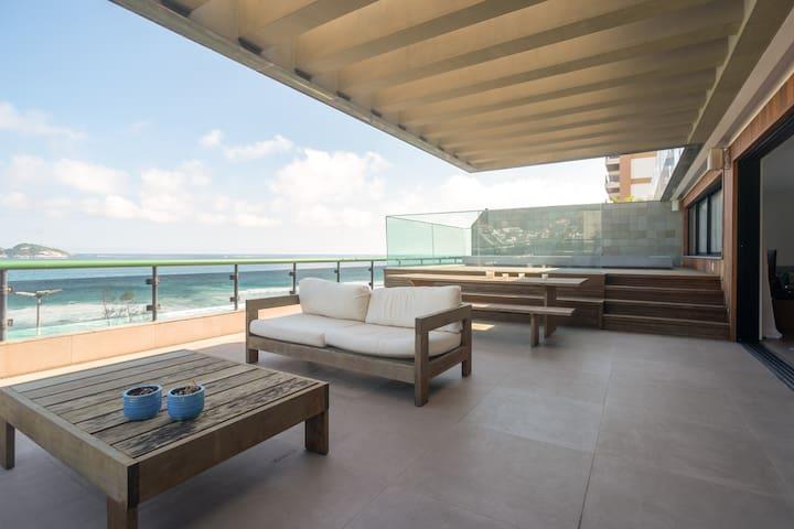 Cobertura Av PEPE, 500 m² com piscina, 4 suites,