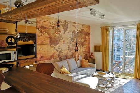 Moderne Suite im angesagten Pontviertel & Uni Nähe
