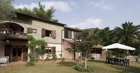 Villa Fiora nær Porto Orlandino, fred og afslapning