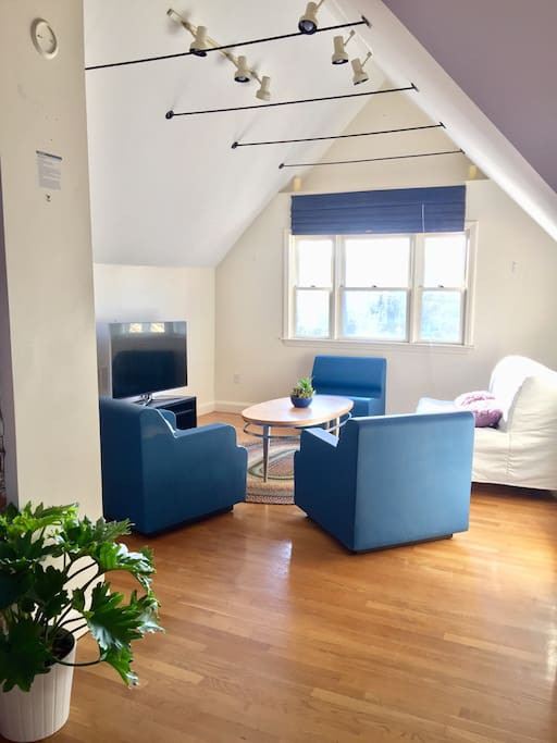 Huge Living Room Airbnb Boston