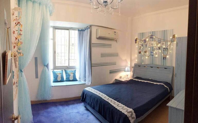 旅途民宿,肇庆市中心地段温馨大床房