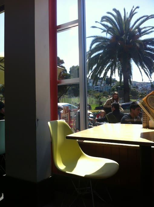 Photo of Dolores Park Cafe in Mission District