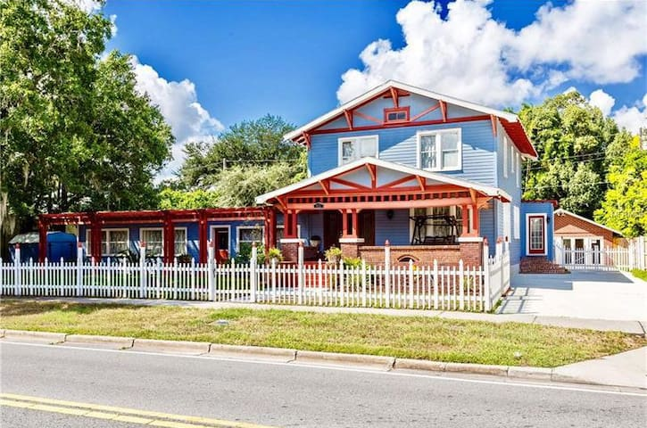 Cottage Oasis in Historical Downtown Sanford