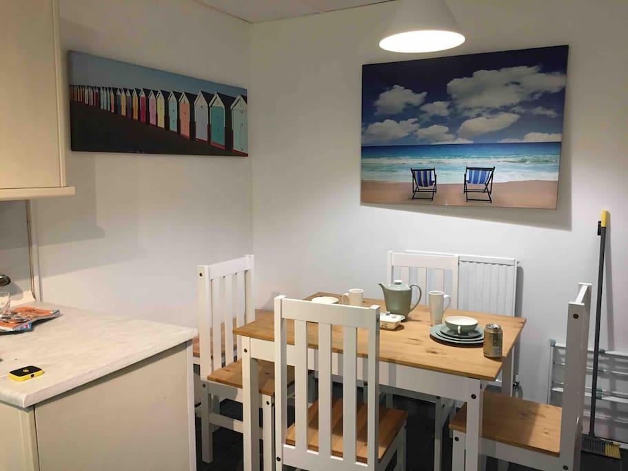 Lovely family breakfast area