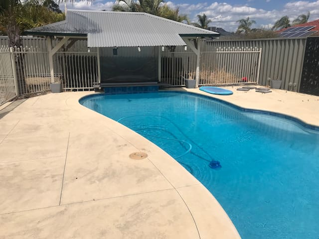Family friendly central home with private pool!