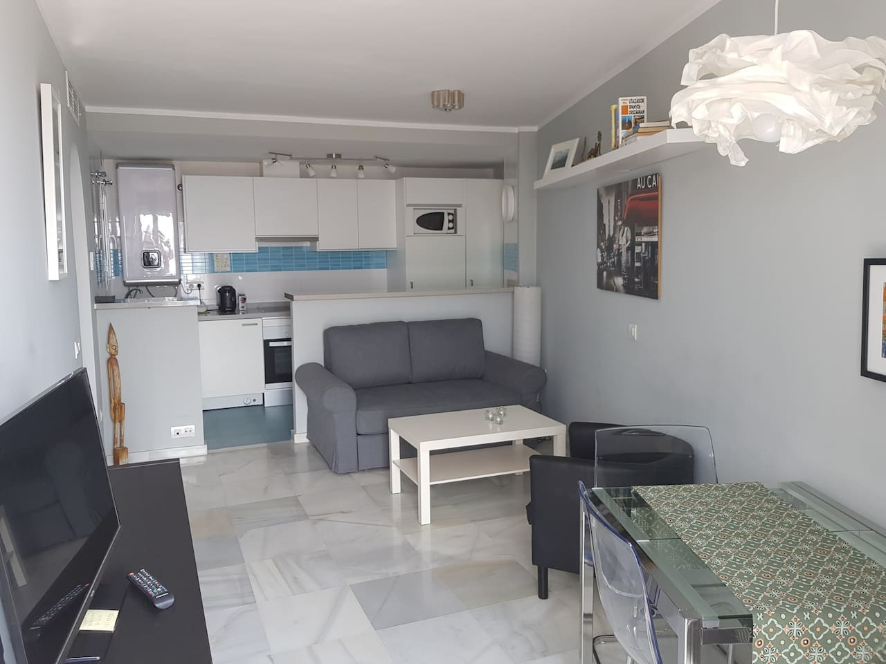 Youthful newly built apartment