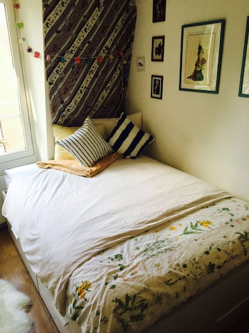 Charming private room in Amsterdam city center