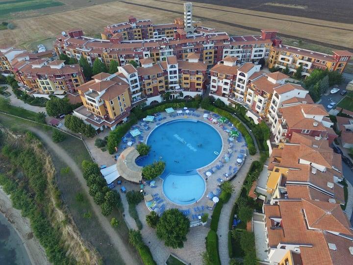 Visit Sunny Beach Rada Sea&Pool View Studio