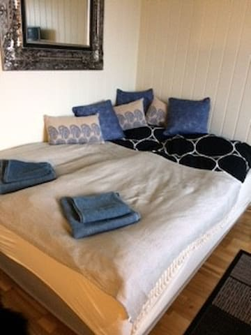 Small studio with kitchen, bathroom and parking - Alesund - Pis