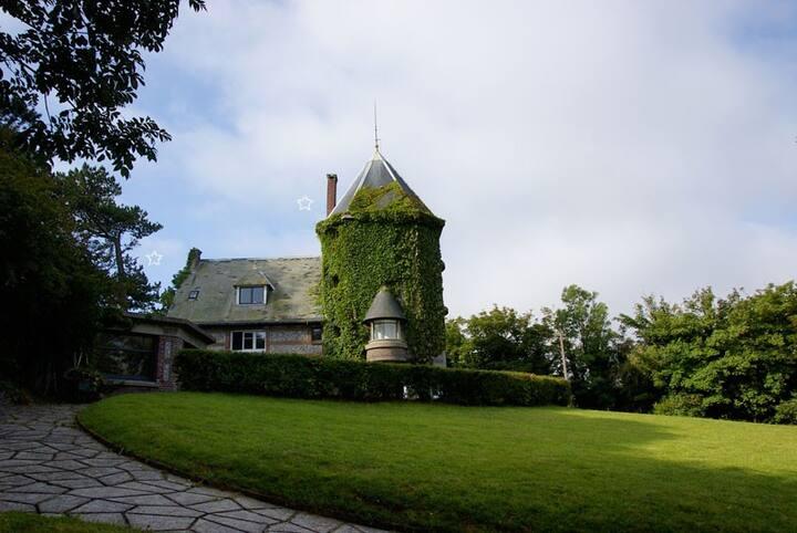 maison hurlevent, chambre de la tour