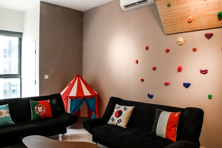 Comfy 2BR, Link to MRT, near IGB, Alpha Specialist