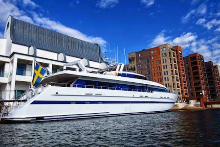 Lyx Yacht 112ft Helsingborgs City