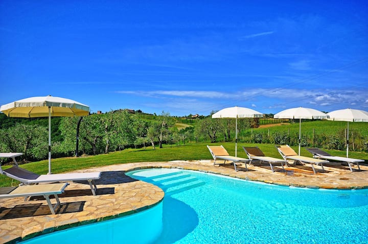 La Chiesina di Vittorio - Vacation Rental with swimming pool in Chianti, Tuscany