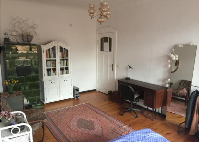 Beautiful room with balcony near Tempelhofer Feld