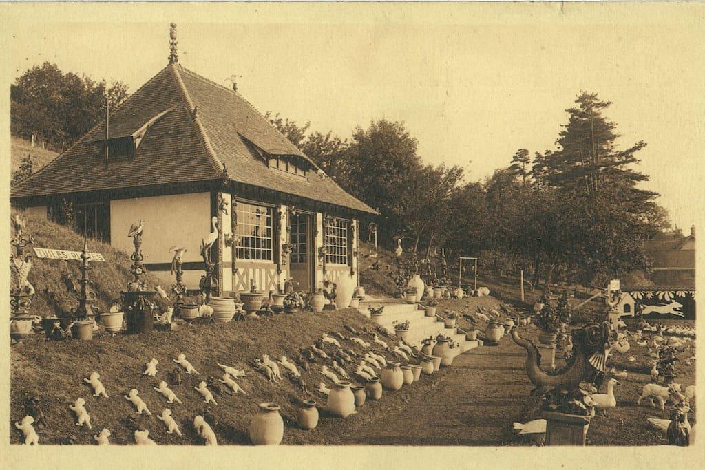 la maison en 1936 ancienne poterie