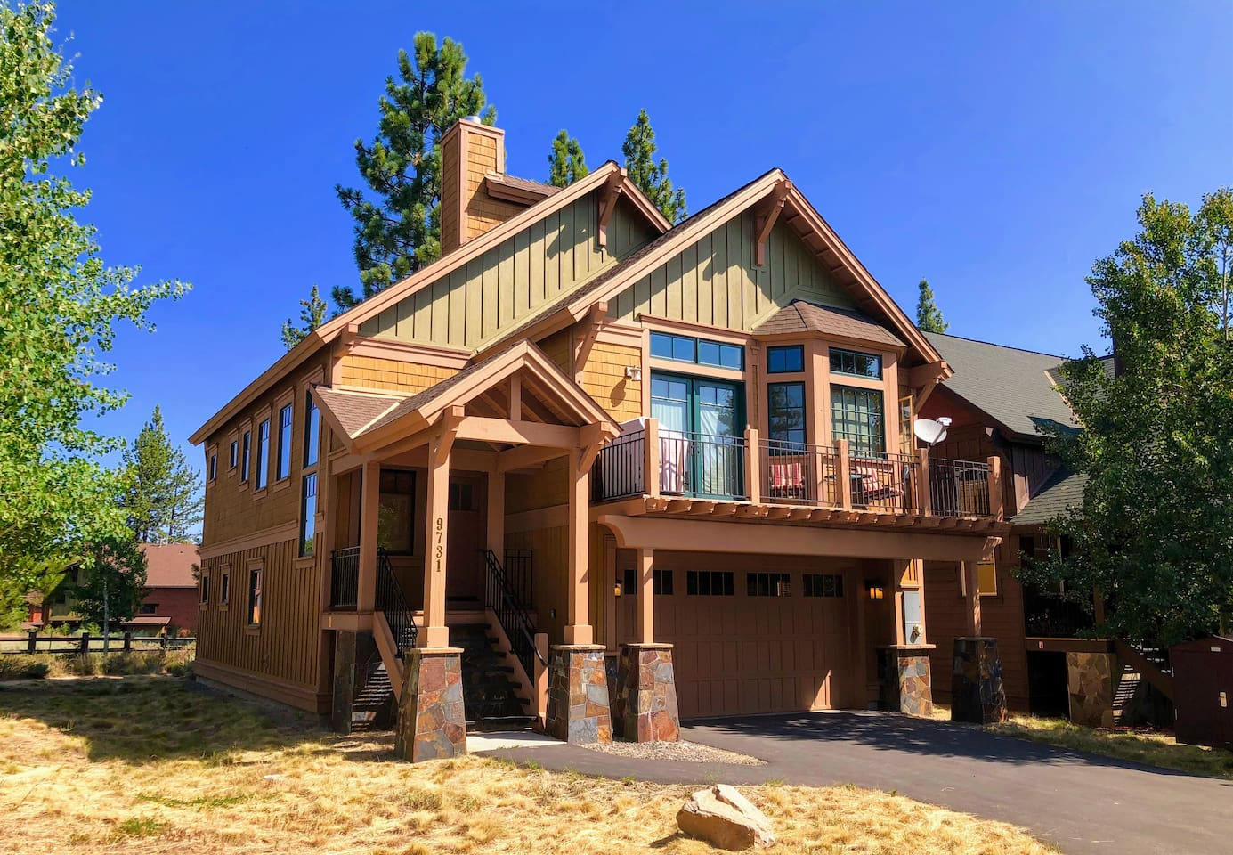 Welcome to our Truckee Home